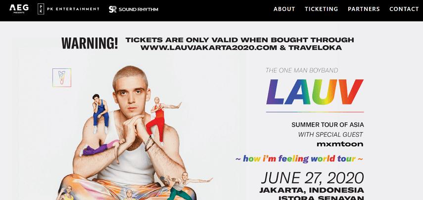 LAUV Summer Tour of Asia - Ini Dia Jadwal Konser Musik 2020 yang Paling Ditunggu