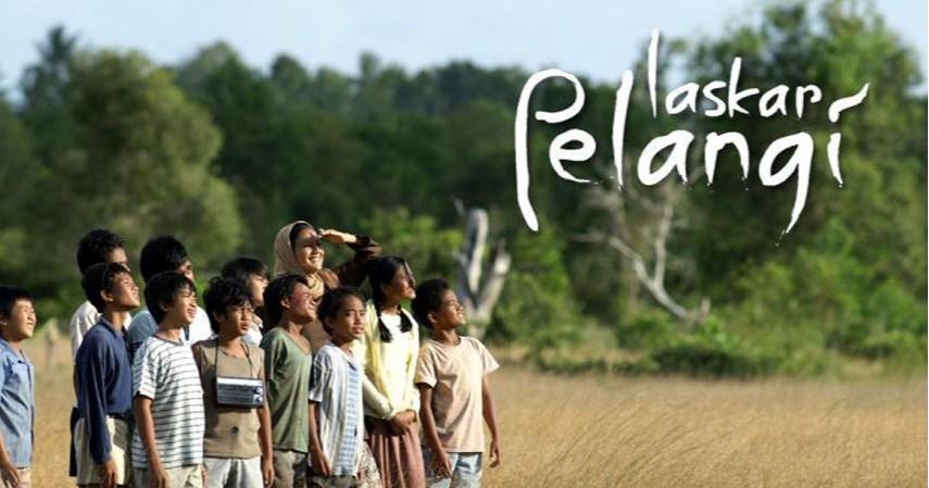 Laskar Pelangi - 2008 - Film Terbaik Tentang Persahabatan yang Bisa Mengajarkan Arti Teman Sejati