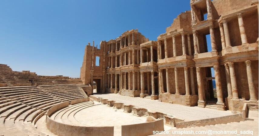 Libya - 10 Negara Terkaya di Benua Afrika 2020 dengan SDA Berlimpah