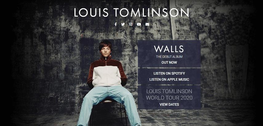 Louis Tomlinson World Tour - Ini Dia Jadwal Konser Musik 2020 yang Paling Ditunggu