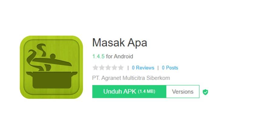 Masak Apa - Aplikasi Masak Terbaik Untuk iPhone dan Android Gratis!