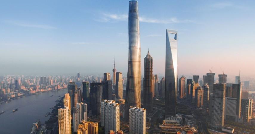 Menara Shanghai - Inilah Perbandingan Ketinggian Jeddah Tower Dan Gedung Lain