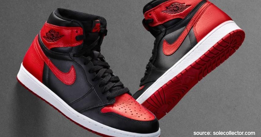 Nike Air Jordan (Michael Jordan) - 7 Brand Sepatu Basket Pemain NBA Terpopuler yang Paling Dicari