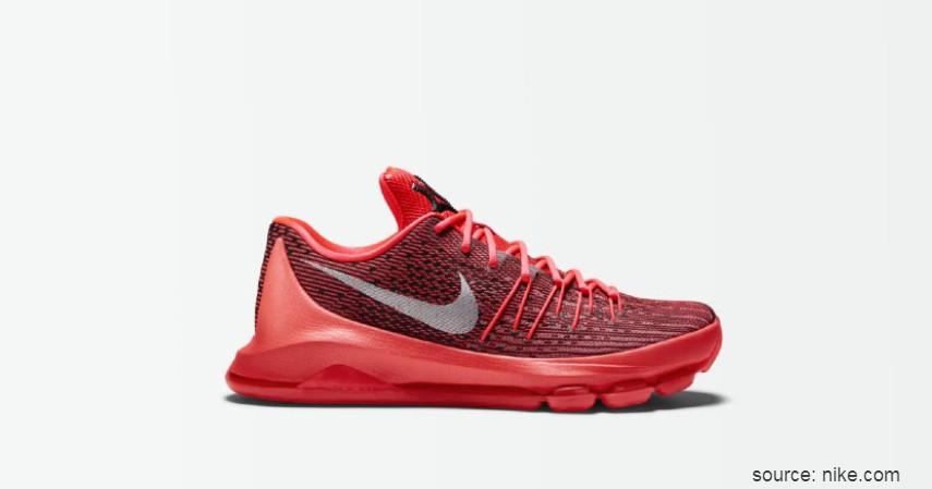 Nike (Kevin Durant) - 7 Brand Sepatu Basket Pemain NBA Terpopuler yang Paling Dicari