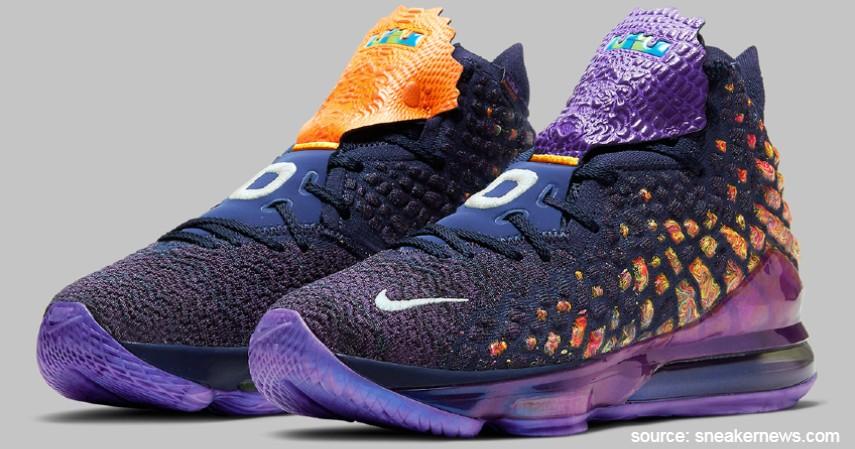 Nike (Lebron James) - 7 Brand Sepatu Basket Pemain NBA Terpopuler yang Paling Dicari