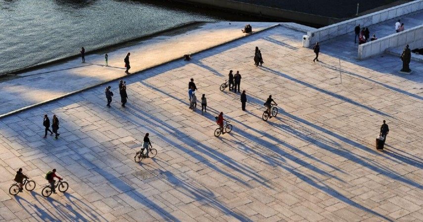 Oslo - 3 Negara Ini Sukses Ubah Kotanya Jadi Surga Pejalan Kaki