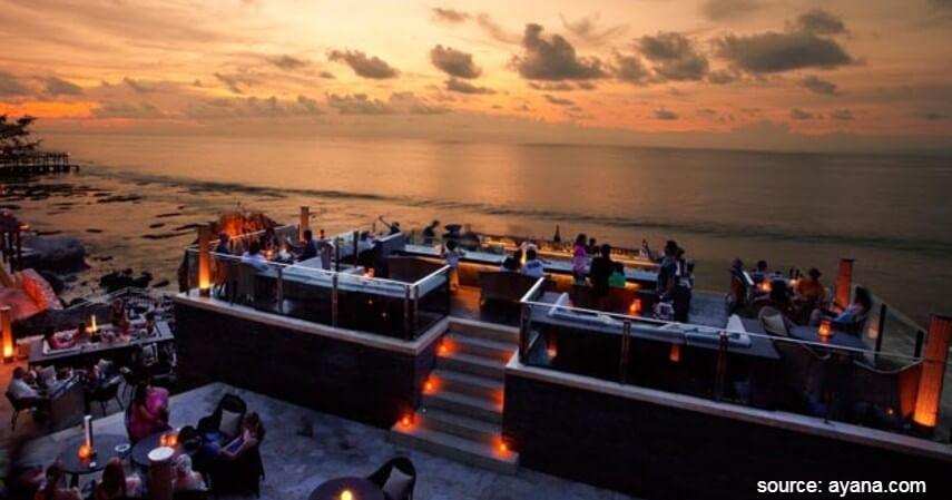 Rock Bar di Ayana Resort Jimbaran - Yuk Intip 10 Restoran Romantis Untuk Dinner Di Bali