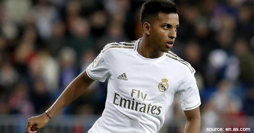 Rodrygo Goes - 18 Tahun - Pemain Muda Terbaik di Liga Spanyol 2019 - 2020