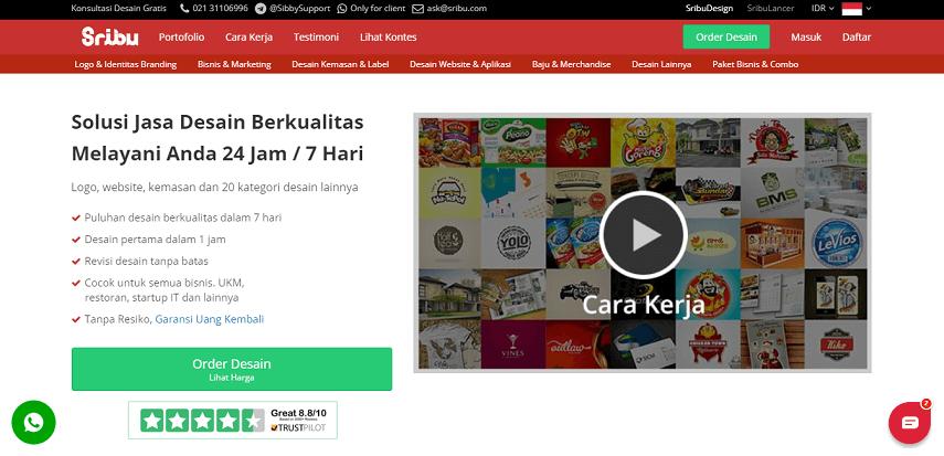 Sribu - Situs Freelance Terbaik 2020 di Indonesia