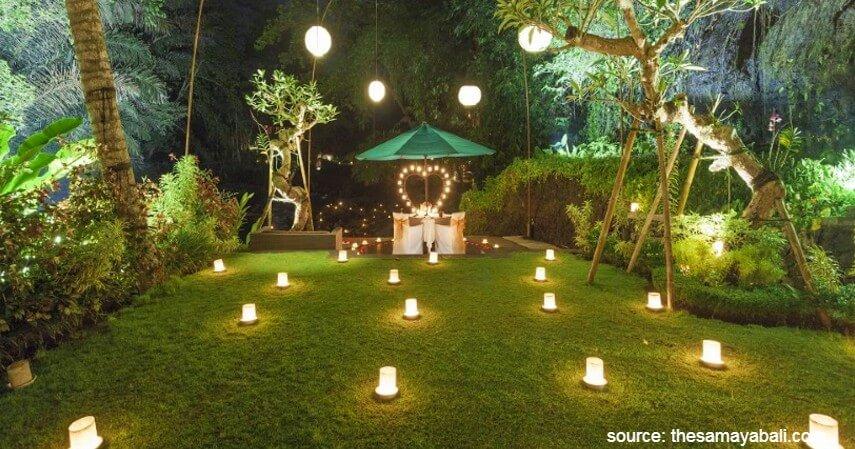 Swept Away di Samaya Ubud - Yuk Intip 10 Restoran Romantis Untuk Dinner Di Bali