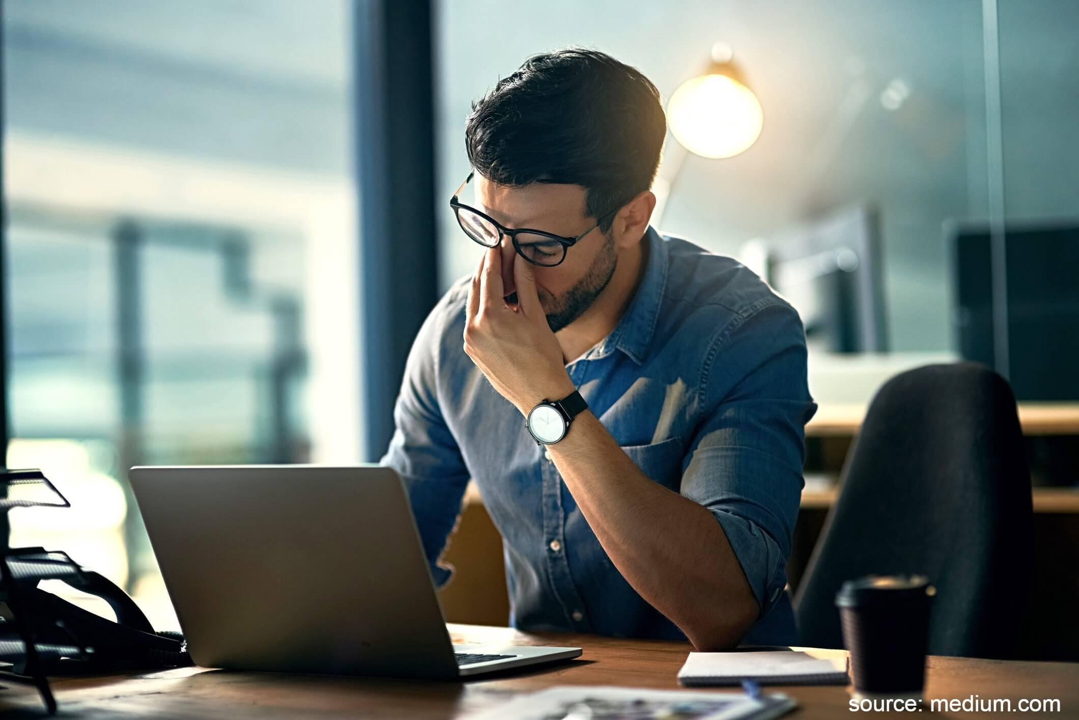 Tekanan kerja - Menjadi Freelance atau Karyawan Kantoran Ini Perbandingannya
