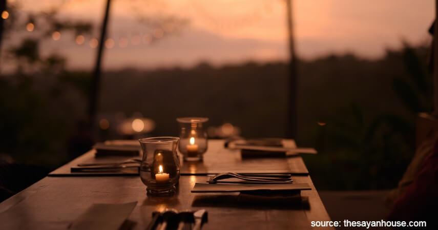 The Sayan House (Ubud) - Yuk Intip 10 Restoran Romantis Untuk Dinner Di Bali
