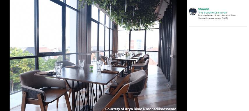 The Socialite Bistro & Lounge - Restoran Romantis Untuk Dinner Di Surabaya, Cocok Untuk Honeymoon!