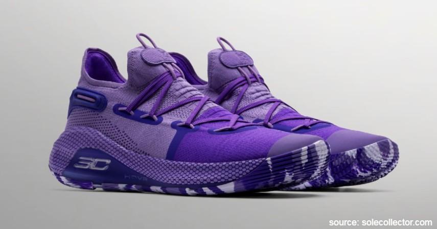 Under Armour (Stephen Curry) - 7 Brand Sepatu Basket Pemain NBA Terpopuler yang Paling Dicari