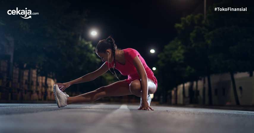 tips aman berolahraga di malam hari