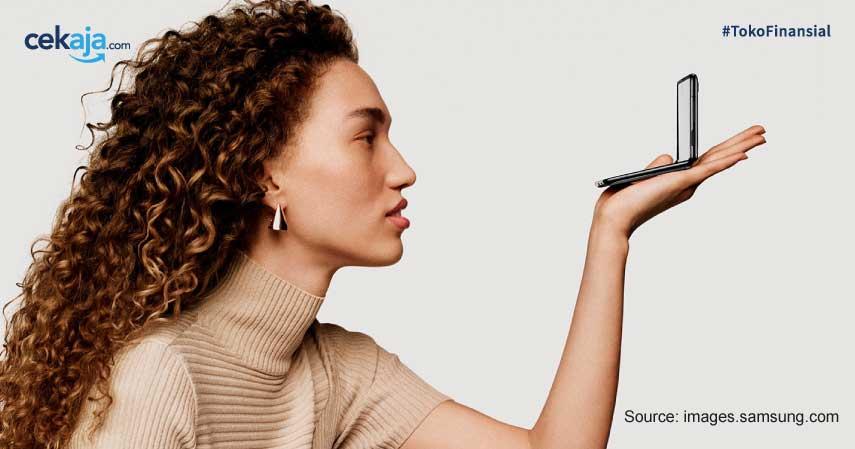 5 Kecanggihan Galaxy Z Flip, Ponsel Lipat Mini Rp21 Juta dari Samsung