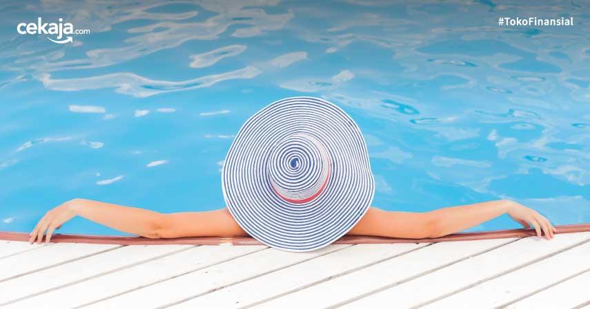 Alasan perempuan mustahil hamil karena berenang