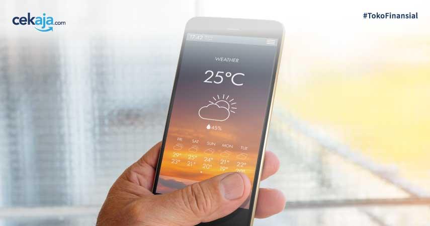 8 Aplikasi Ramalan Cuaca Terbaik Android dan iOS