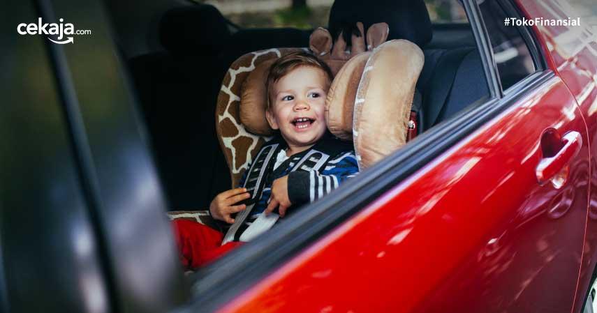 tips mengendarai mobil bersama bayi