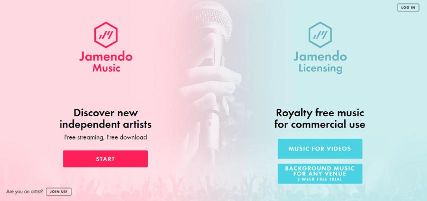 Jamendo - Daftar Situs Download Lagu Gratis, Gak Perlu Streaming Lagi