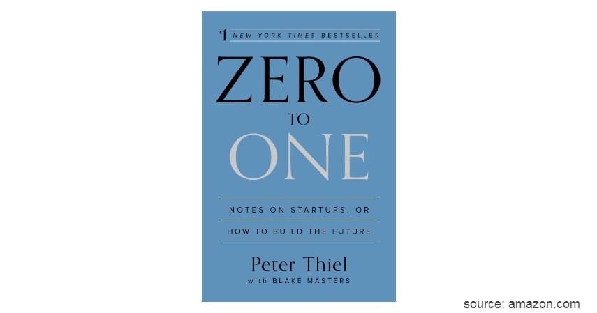 Zero to One Notes on Startups, or How to Build the Future - 6 Rekomendasi Buku Terbaik untuk Belajar Bisnis bagi pemula