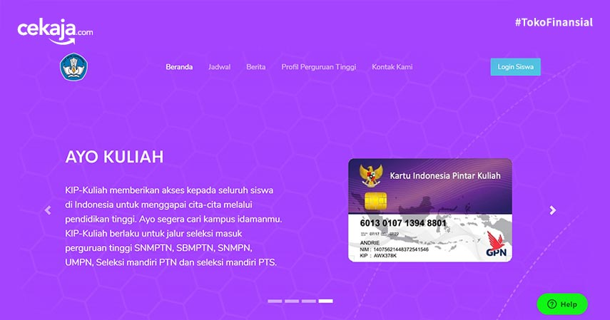 Kartu Indonesia Pintar Bisa Buat Kuliah, Pelajari Syarat Pendaftarannya