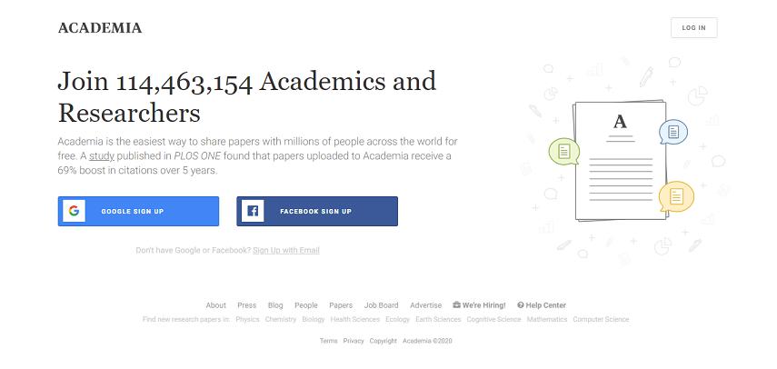 Academia - 10 Situs Jurnal untuk Skripsi bagi Kamu Para Pejuang Semester Akhir