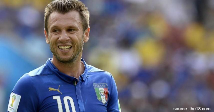 Antonio Cassano - 5 Pemain Muda Liga Italia Terbaik