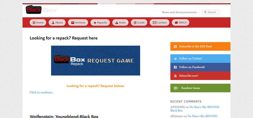 Blackbox Repack - 15 Situs Download Game PC Dari Game Lawas hingga Game Indie