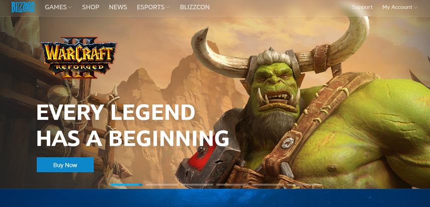 Blizzard - 15 Situs Download Game PC Dari Game Lawas hingga Game Indie