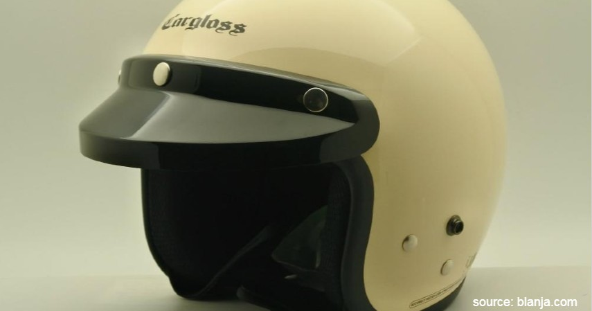 Cargloss Retro - 9 Rekomendasi Helm Termurah dengan Kualitas Baik
