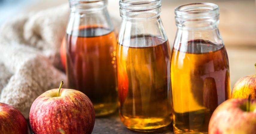 Cuka Sari Apel - 10 Obat Herbal Untuk Kolesterol Dijamin Alami dan Efektif