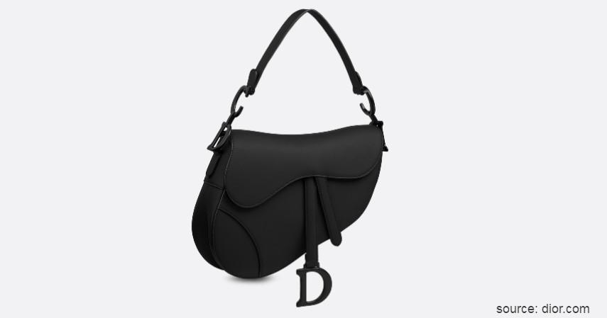 Dior Saddle Matte Bag - Tren Tas Wanita Terbaru 2020 Paling Hits