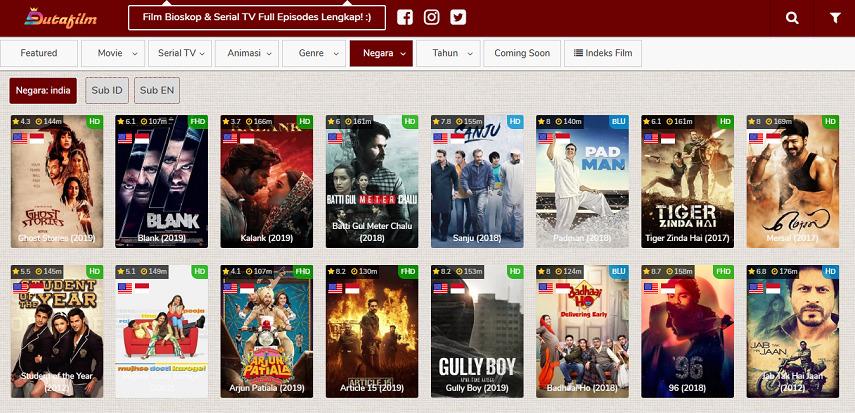 Dutafilm - Situs Nonton Drama India Lawas hingga Terbaru Subtitle Indonesia