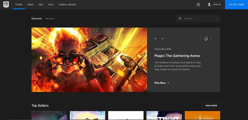 Epic Games Stor - 15 Situs Download Game PC Dari Game Lawas hingga Game Indie