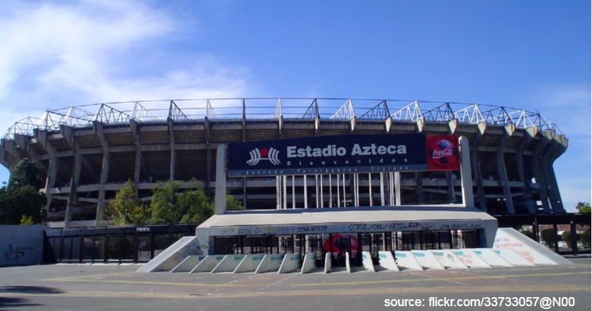 Estadio Azteca Meksiko - 9 Stadion Sepak Bola Terbesar di Dunia