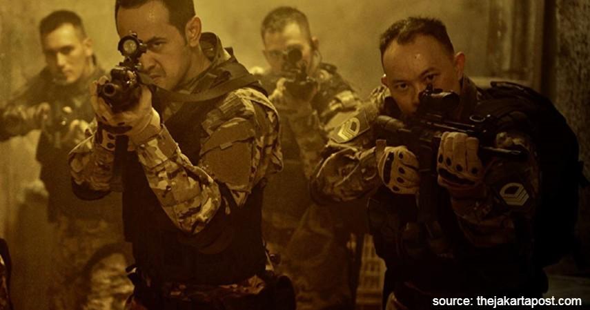 Foxtrot Six - Mengulas 5 Film Indonesia dengan Biaya Produksi Termahal
