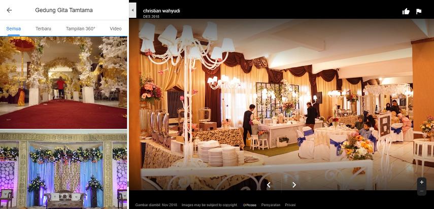 Gedung Gita Tamtama - Gedung Pernikahan di Surabaya dan Harga Sewa