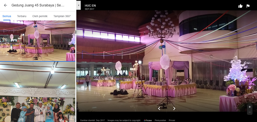 Gedung Joang 45 - Gedung Pernikahan di Surabaya dan Harga Sewa