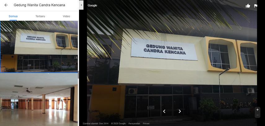 Gedung Wanita Candra Kencana - Gedung Pernikahan di Surabaya dan Harga Sewa