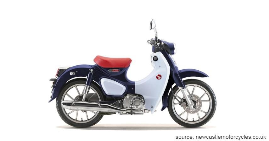 Honda Super CUB 125 - Rp59 Juta-an - Motor Retro Modern dan Klasik Terbaru 2020