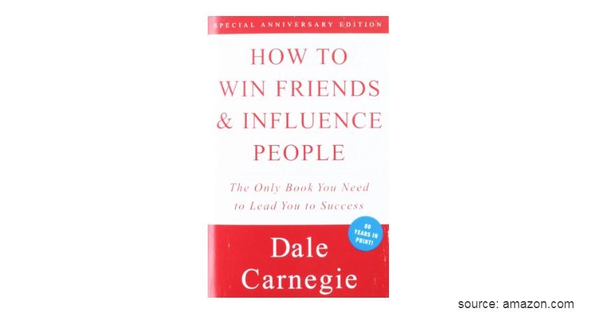 How to Win Friends and Influence People - 4 Rekomendasi Buku Motivasi Diri Terbaik Sepanjang Masa