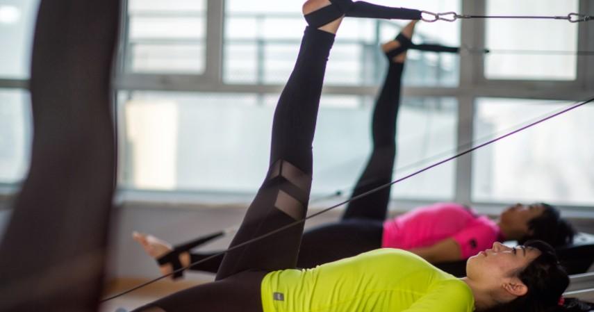 Ikut pilates - Biar Kayak Shandy Aulia Ini Tips Mengecilkan Perut Usai Lahiran