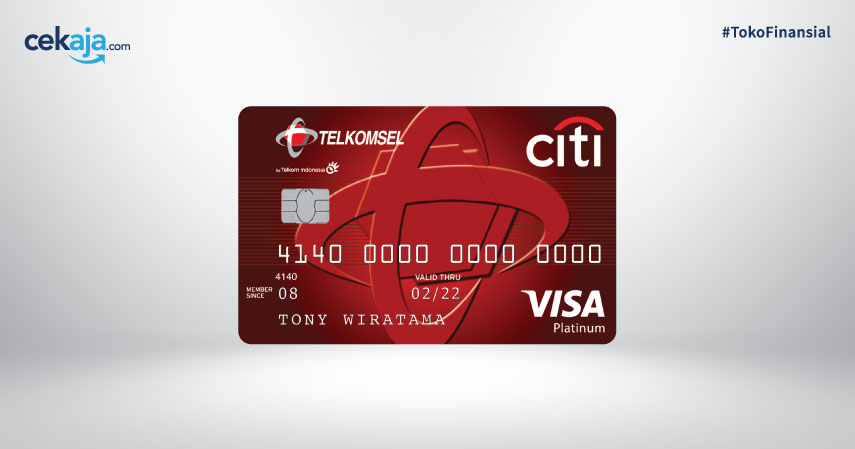 Promo Eksklusif Kartu Kredit Citi Telkomsel Card