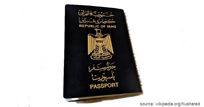 Irak dengan 28 negara - Paspor Terkuat dan Terlemah di Dunia Tahun 2020