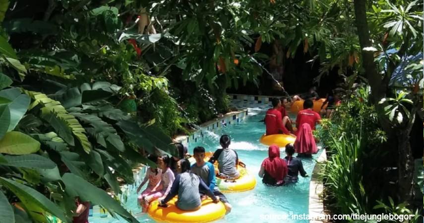 Jungle Waterpark Bogor - Kepoin 5 Waterpark yang Sering Dikunjungi Milenial