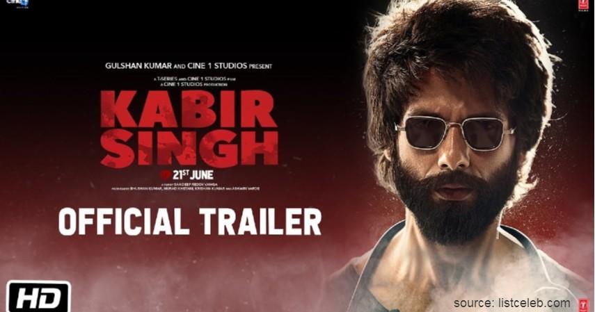 Kabir Singh kisah cinta di luar batas - Rekomendasi Film Bollywood Paling Romantis