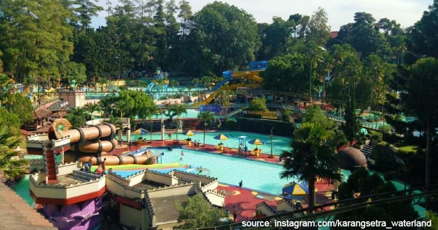 Karang Setra Waterland Bandung - Kepoin 5 Waterpark yang Sering Dikunjungi Milenial
