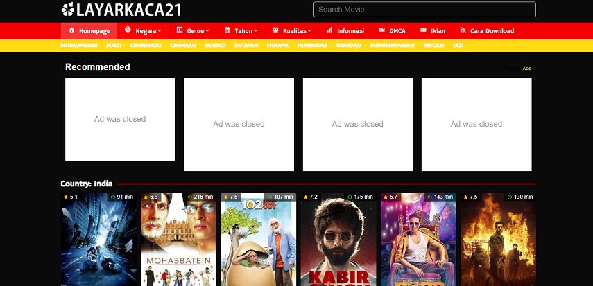 LK21 - Situs Nonton Drama India Lawas hingga Terbaru Subtitle Indonesia