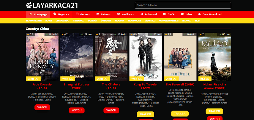 LK21 - Situs Nonton Drama Mandarin Terbaru Sub Indo Gratis 2020